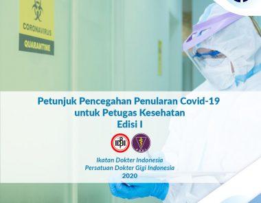 Petunjuk Pencegahan Penularan Covid-19 untuk Petugas Kesehatan