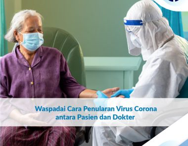 Waspadai Cara Penularan Virus Corona antara Pasien dan Dokter
