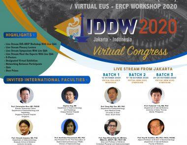 Virtual Indonesian Digestive Disease Week (IDDW) & Virtual EUS-ERCP Workshop 2020
