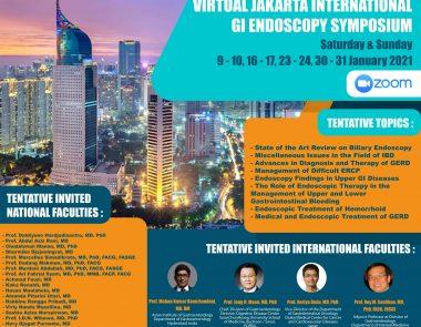Virtual Jakarta International GI Endoscopy Symposium 2021